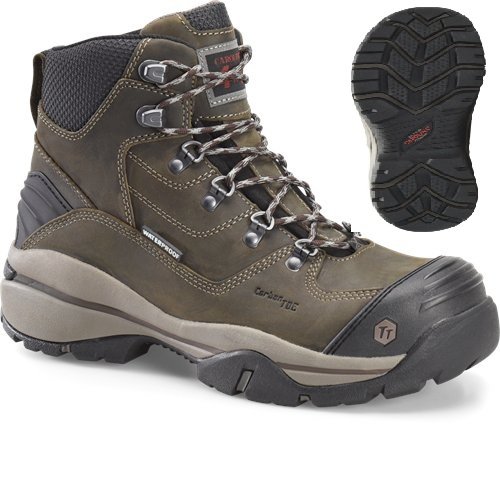 ca5525 - Carolina ca5525 Men's Waterproof Composite 6 Inch SAFETY TOE Boots EH Rated