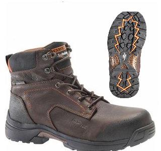 Carolina LT650 Men's Waterproof Composite 6 Inch SAFETY TOE Boots, EH Rated
