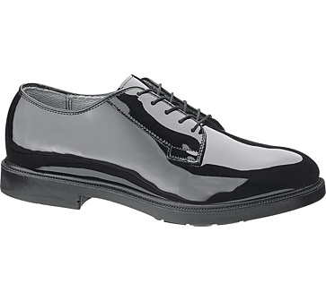b111 - Bates 111 Men's High Gloss Durashocks Postal Uniform Oxford Shoes