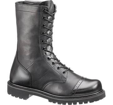 b2184 - Bates 2184 Men's 11 Inch Enforcer Paratrooper Side Zip Boots