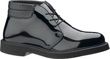 b53 - Bates 53 Lites Men's Padded Collar High Gloss Uniform Chukka Boot