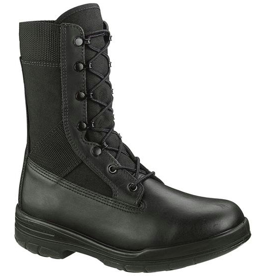 b922 - Bates 922 Men's 8 Inch Durashocks Tropical Navy Seal Uniform Boots