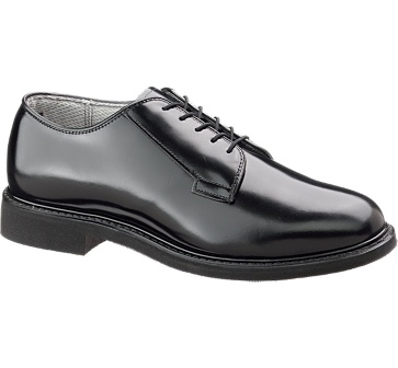 b932 - Bates 932 Lites Men's Black Leather Uniform Oxford Police Shoes