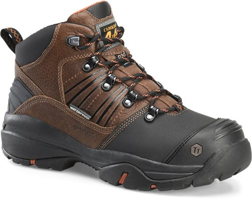 "Carolina ca5587 Internal Metatarsal Safety Toe Boot Waterproof 6"" Composite Safety Toe with Tiger Tip Protection"