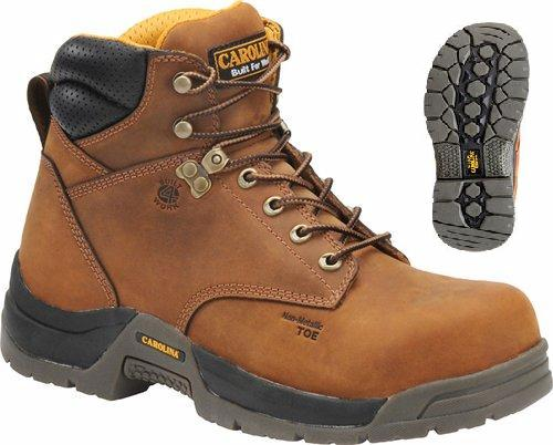 Carolina ca5520 Men's Composite 6 Inch BROAD TOE SAFETY TOE Boot, EH Rated Big sizes available