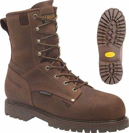 ca9528 - Carolina ca9528 Heavy Duty Insulated Waterproof Composite 8 Inch SAFETY TOE Boots, EH Rated