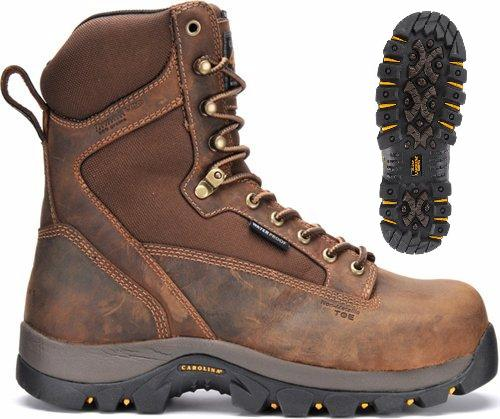 ca4015 - Carolina ca4015 BROAD TOE Waterproof 800g Insulated Boot