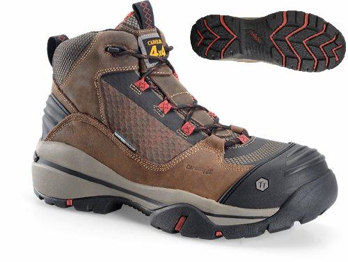ca4551 - Carolina ca4551 Men's Waterproof Composite 6 Inch SAFETY TOE Boots EH Rated