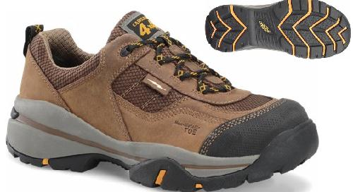 ca4556 - Carolina ca4556 Men's Composite Hiker Style Safety Toe Shoe, ESD Rated
