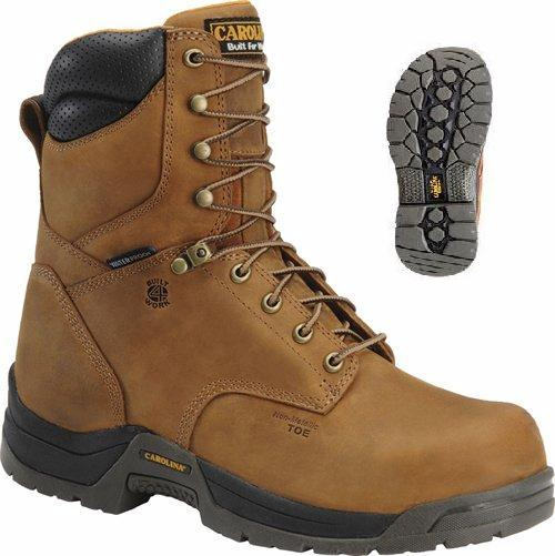 Carolina ca8020 Mens Waterproof 8 inch BROAD TOE Work Boot
