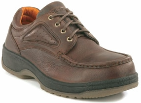 fs2400 - Florsheim fs2400 Men's Brown SAFETY TOE Oxford Shoes, ESD Rated