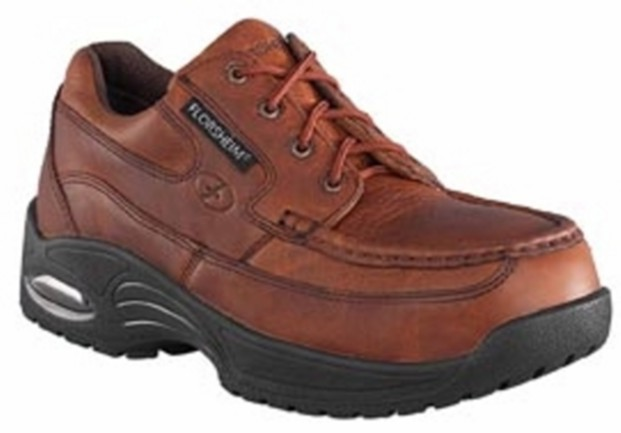 fs2430 - Florsheim fs2430 Men's Brown Composite SAFETY TOE Oxford Shoes, ESD Rated