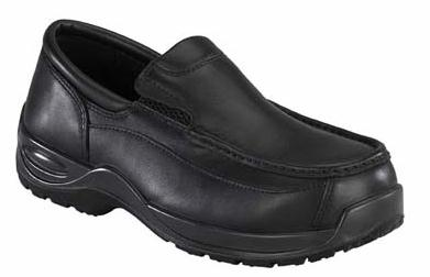 fs2705 - Florsheim fs2705 Men's Black COMPOSITE BROAD TOE SAFETY TOE Oxford Shoes, ESD Rated