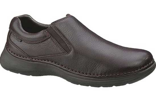 hp15125 - Hush Puppies Lunar Men's Slip On Shoes Brown 15125