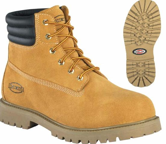 ia0161 - Iron Age Men's ia0161 Steel Toe Waterproof EH Safety Toe Boot