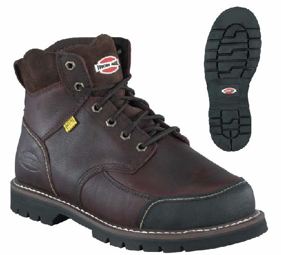 Iron Age Men's ia0163 Steel Toe Internal Met Guard Boot