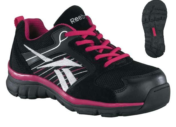 rb454 - Reebok rb454 Women's Athletic ESD Lightweight Composite Safety Toe Wide Toe Box See Cart Sale Price
