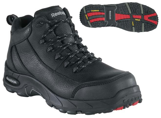 rb4555 - Reebok rb4555 Men's WATERPROOF COMPOSITE SAFETY TOE Shoes Waterproof EH Rated See Cart Sale Price