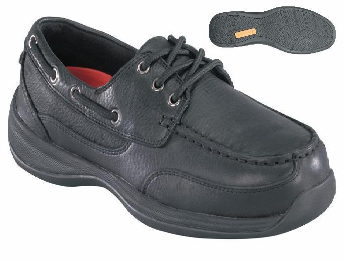 rk6738 - Rockport rk6738 Men's Safety Toe Casual Boat Shoe