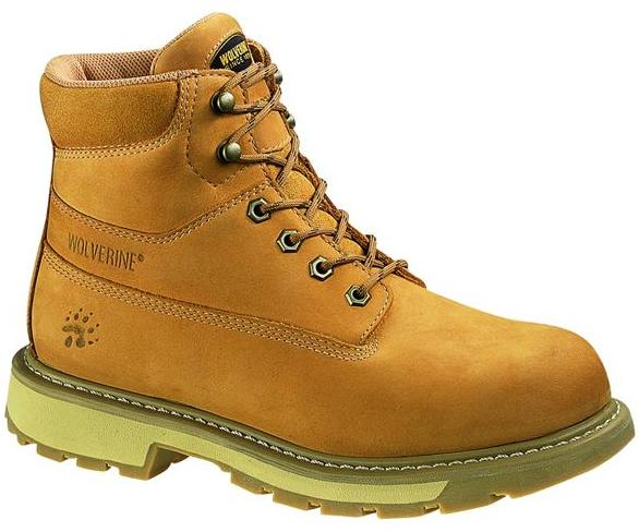 w1041 - Wolverine Men's 6 Inch Waterproof Insulated Boots Gold w1041