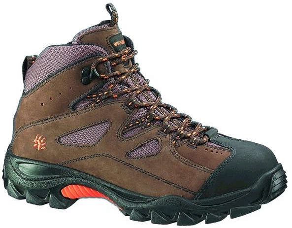 w2194 - Wolverine Men's SAFETY TOE Hiker Boots, EH Rated 2194
