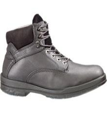w3123 - Wolverine Men's 6 Inch Durashocks Work Boots Black 3123