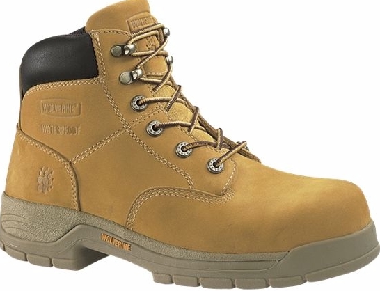 w5065 - Wolverine Men's Waterproof SAFETY TOE Boots, EH Rated 5065