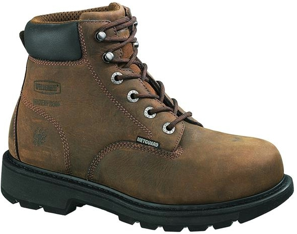 w5679 - Wolverine Men's 6 Inch EH WATERPROOF METATARSAL GUARD SAFETY TOE Boots 5679