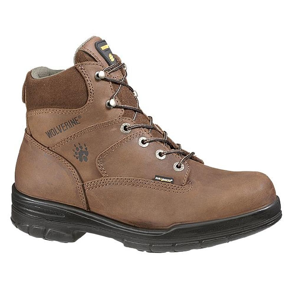 w2053 - Wolverine Men's 6 Inch SAFETY TOE Boots, EH Rated 2053
