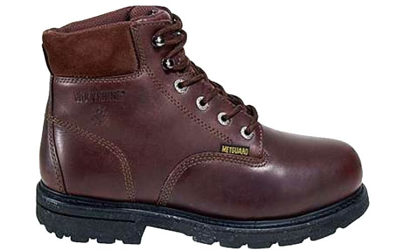 w4451 - Wolverine Men's Wolverine 6 Inch METATARSAL GUARD SAFETY Boots 4451