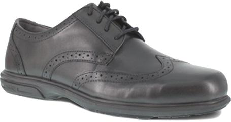 fs2024 - Florsheim fs2024 Florsheim ESD Black Wing Tip Safety Toe Shoes