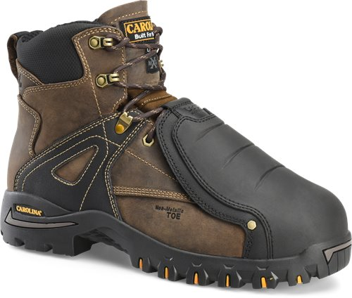 "Carolina ca5586  6"" Composite Toe with Tiger Tip Protection external Metatarsal Safety Toe Boot"