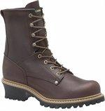 Carolina 1821 Men's Safety Toe Logger Boot 8 Inch