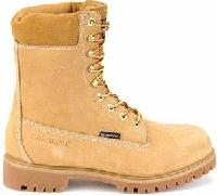 ca9026 - Carolina Men's Waterproof Work Boot ca9026 Wheat Nubuck Leather