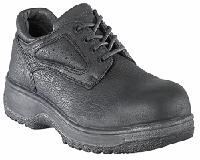 fs2416 - Florsheim fs2416 Men's Black Composite SAFETY TOE Oxford Shoes, ESD Rated