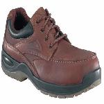 fs2700 - Florsheim fs2700 Men's Brown COMPOSITE BROAD TOE SAFETY TOE Oxford Shoe ESD Rated