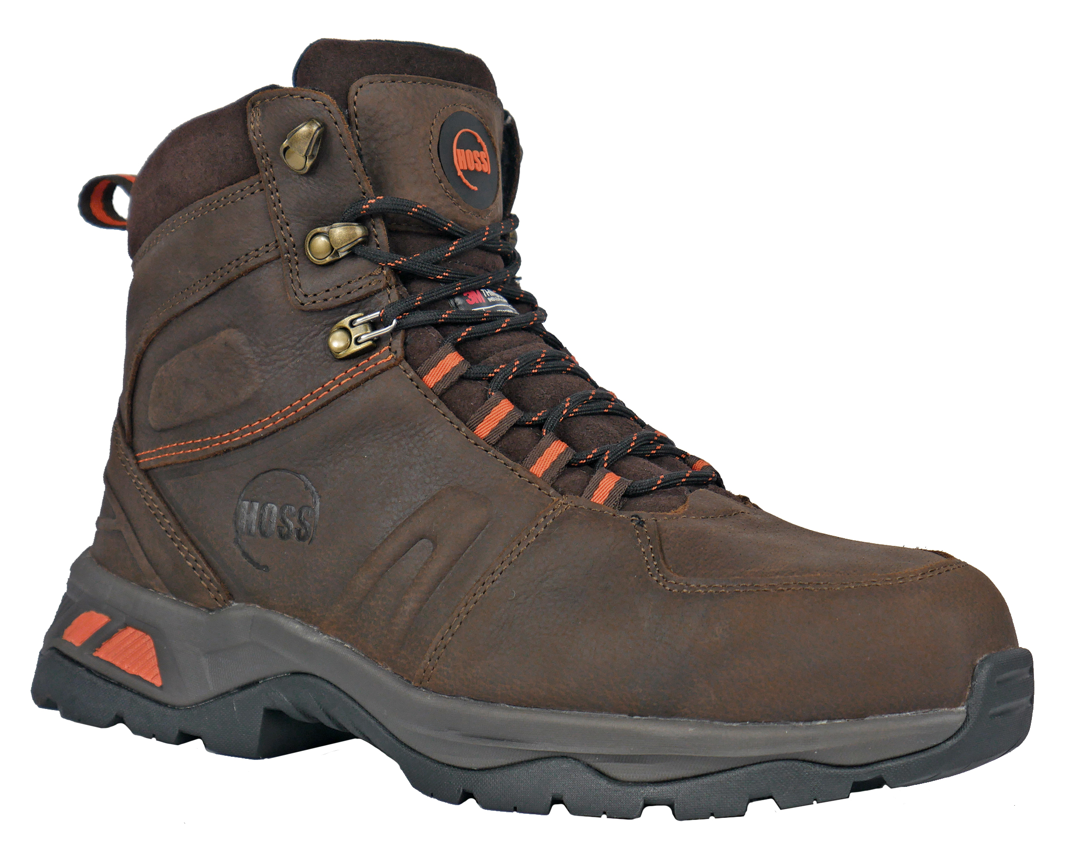 Hoss 60242 waterproof insulated composite safety toe boot