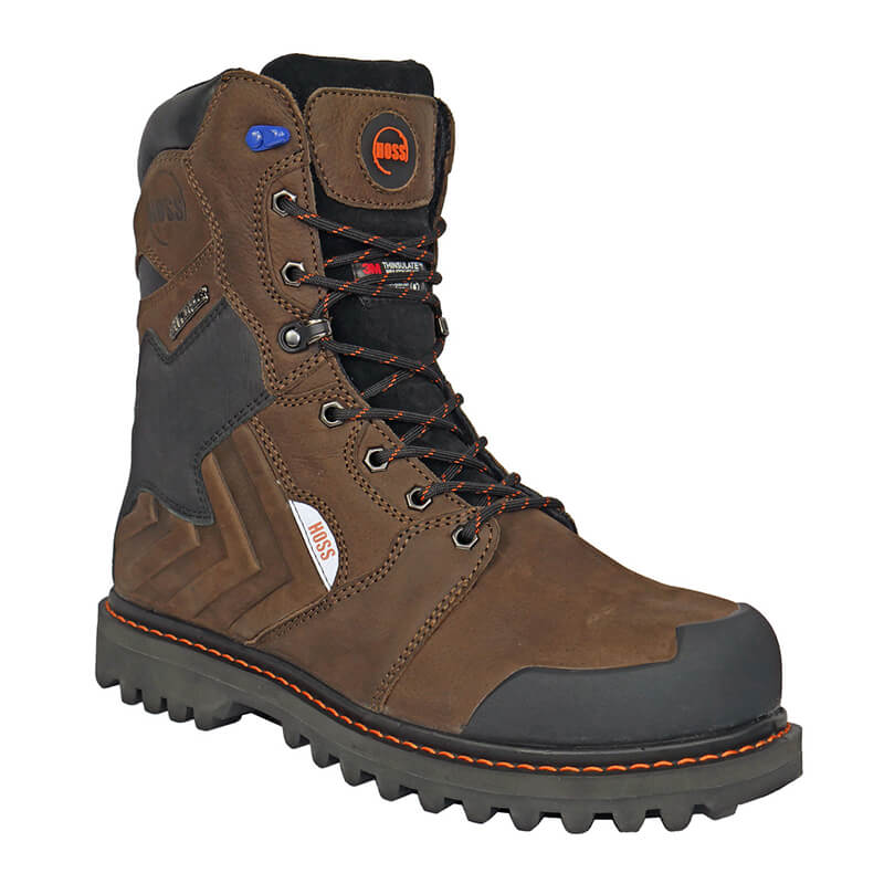h80244 - Hoss 80244 waterproof insulated composite safety toe boot
