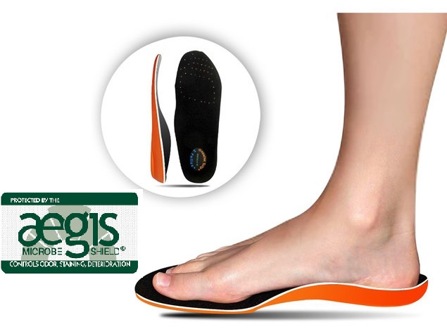 Walking on Air Polyurethane - Memory Foam Insole