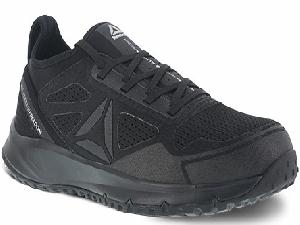 rb4090 - Reebok rb4090 Men's Black Athletic EH SAFETY TOE Shoe