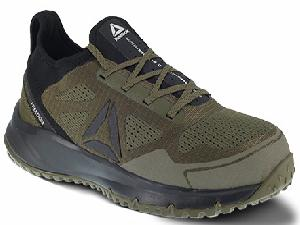 rb4092 - Reebok rb4092 Men's Sage and Black Athletic EH SAFETY TOE Shoe