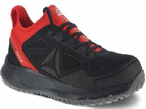 Reebok rb4093 Men's Black and Red Athletic ESD SAFETY TOE Shoe