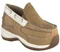 rk673 - Rockport Works rk673 Women's Casual ESD Slip On Safety Toe Shoe