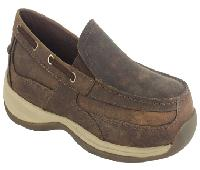 rk6737 - Rockport Works rk6737 Slip On Boat Shoe EH Safety Toe Shoe
