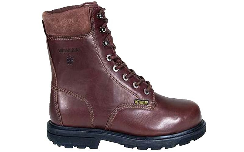 w4452 - Wolverine Men's 8 Inch METATARSAL GUARD SAFETY TOE Boots 4452
