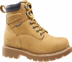 w10632 - Wolverine Men's 6 Inch Waterproof SAFETY TOE Boots w10362